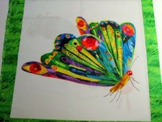 Very Hungry Caterpillar Double Panel Butterfly