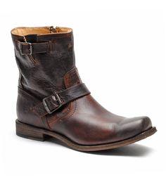 Men's Frye Boots Frye-smith-engineer-dark-brown