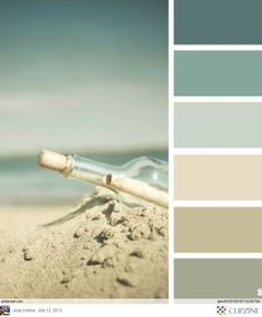dream bath : Beachy colors. Nice for a bedroom or bathroom. Flattering colors for a bathroom and relaxing for a bedroom.