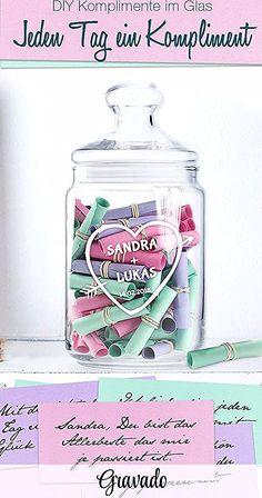 mit Ihrem eigenen Wunschtext Herz /& Heim/® Trinkglas mit Gravur Lieblings/…