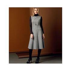 Kleid, Vogue V9025 (32-40)