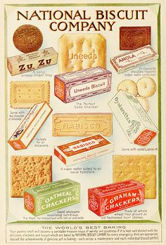 National Biscuit Company / Nabisco advertisement from an issue of Motion Picture Magazine, 1919.