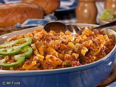 We've got a classic casserole recipe you'll be makin' all year-round. Introducing our Hillbilly Pasta Bake! Using a few easy-to-find ingredients, you too can make a simple casserole recipe in an hour.