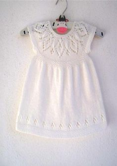 (6) Name: 'Knitting : Jasmine Dress - in 7 sizes