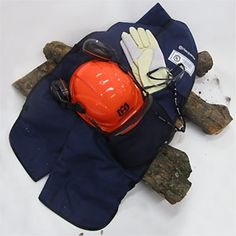 Chainsaw Safety Gear - Chainsaw Helmet Gloves and Glasses - Popular Mechanics