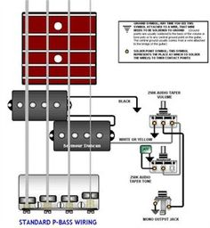 8 best wiring images on pinterest bass guitars and seymour duncan rh pinterest com Guitar Wiring Diagrams 2 Pickups Single Pole Switch Wiring Diagram