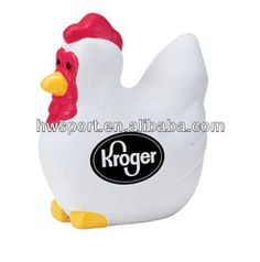 pu chicken toy,stress ball promotional