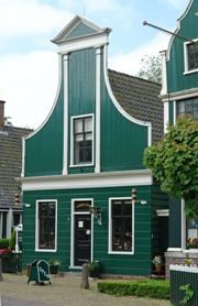 The first Albert Heijn shop in Oostzaan - The Netherlands