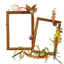 Autumn frames png