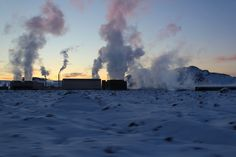 Geothermal Energy Plant in Iceland --- Future job?