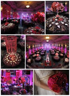 70 best Purple & Red themed wedding... yasss! images on Pinterest ...