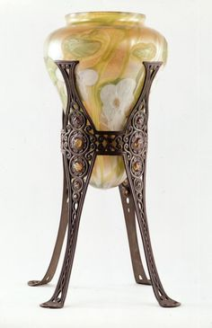 Stalactite lamp globe with stand Manufacturer: Louis Comfort Tiffany, American,1848-1933