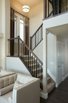 thin spindles, clean rectangular handrail | Dream House | Pinterest | Love  this, Love and Cleanses