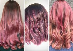 63 Hot Red Hair Color Shades to Dye for: Red Hair Dye Tips & Ideas Hair Color Highlights, Hair Color Dark, Dark Hair, Warm Red Hair, Bright Red Hair, Dyed Tips, Hair Dye Tips, Cherry Red Hair, Dyed Red Hair