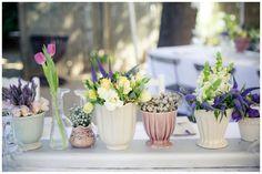 Wedding table decorations - Beautiful chic 2012 theme!
