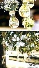 DIY Wedding Decoration Ideas - Home Decorating Ideas Diy Wedding Decorations, Table Decorations, Fall Wedding, Wedding Ideas, Organizing Your Home, Fall Decor, Wedding Planner, Glass Vase, Backyard