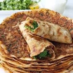 LAHMACUN You are in the right place about turkish cuisine breakfast Here we offer you the most beautiful pictures about Armenian Recipes, Lebanese Recipes, Turkish Recipes, Ethnic Recipes, Beef Recipes, Cooking Recipes, Healthy Recipes, Delicious Recipes, Cafe Food