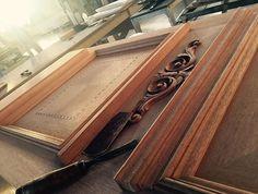 Classic wooden handmade door Nomidis Luxury Furniture