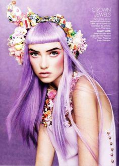 pretty hair colour, sort of like perrie edwards old hair.