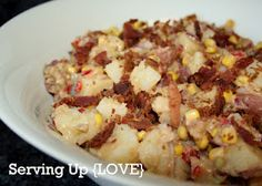 BBQ Potato, Bacon & Corn Salad