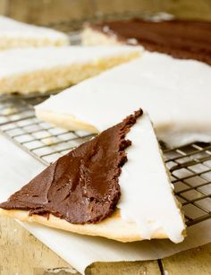GIANT Black and White Cookie Cake - classic NY bakery dessert but better!: GIANT Black and White Cookie Cake - classic NY bakery dessert but better!