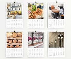 fabulous Paris calendar pictures