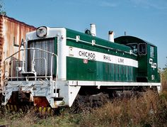 Chicago Rail Link Railroad, EMD SW9 diesel-electric switcher locomotive in Burnham, Illinois, USA