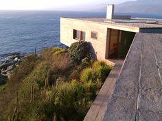 House in Punta Pite designed by Smiljan Radic, Chile