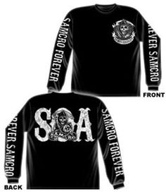 Sons Of Anarchy Samcro Forever Long Sleeve T-shirt (Small, Black) SOA,http://www.amazon.com/dp/B0075A71QY/ref=cm_sw_r_pi_dp_p1Sfsb13M0DFVQ4H
