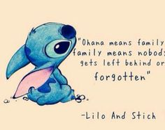 """Lilo & Stitch Traditional Disney Family Lilo and Stitch Lilo and Nani Ohana Cobra Bubbles """"Social Work and Child Maltreatment Intervention in Disney Animated Feature Films: by David Hubka, Lil Tonmyr, Wendy Hovdestad Building a Friendship Similarities Lilo Und Stitch Ohana, Lilo And Stich, Lilo And Stitch Quotes, Stich Disney, Lilo And Stitch Tattoo, Life Quotes Love, Cute Quotes, Funny Quotes, Today Quotes"""