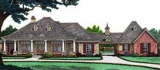 House Plan 66013 | European   Tudor    Plan with 2340 Sq. Ft., 3 Bedrooms, 3 Bathrooms, 3 Car Garage