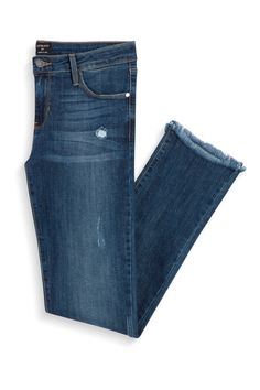 Stitch Fix Fall Styles: Frayed Hm Straight Leg Jean