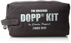 Dopp Mens Legacy One Zip Travel KitCanvas Grey -- Click on the image for additional details. (Note:Amazon affiliate link)
