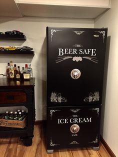 My man cave fridge