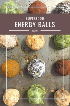 Superfood Energy Balls from Body Compass Discovery's blog