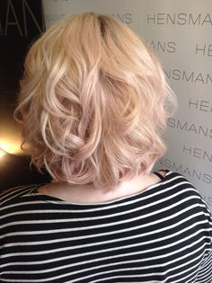 Schwarzkopf's strawberry blush on our Lily, created by our Level 4 Stylist Alice❤️