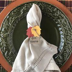 Thanksgiving Napkin Rings – Set of 20 Paper Napkin Rings for Thanksgiving or Fall Table Decor Thanksgiving Place Cards, Diy Thanksgiving, Paper Party Decorations, Plastic Silverware, Printed Napkins, Fall Table, Paper Napkins, Autumn Inspiration, Napkin Rings