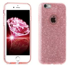 PINK SPARKLE BLING New Cell Phone Case Holder Accessories For IPHONE 7 | eBay