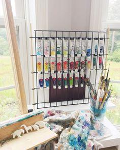 Welcome to my slowly-growing art studio space! Art Hoe Aesthetic, Aesthetic Drawing, Aesthetic Bedroom, Teen Room Decor, Diy Room Decor, Art Studio Room, Tumblr Art, Grunge Art, Art Corner