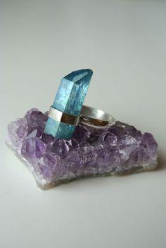 Gorgeous ring by Faye Woodward. Winter Wonderland design entry.