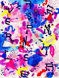 DBLTHINK by Eddie Perrote, via Behance