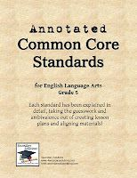 CCSS ELA Standards Simplified and Explained