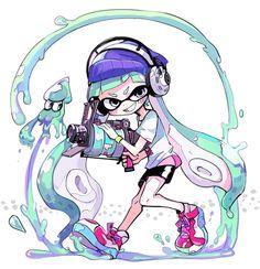 「イカまとめ」/「寺田てら」の漫画 [pixiv] #Inkling #squid