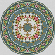The Meredith Collection! Cross Stitch Rose, Cross Stitch Borders, Cross Stitch Flowers, Cross Stitch Patterns, Diy Embroidery, Cross Stitch Embroidery, Embroidery Patterns, Small Leaf, Carpet Design