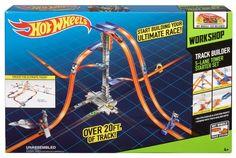 Track Builders Hot Wheels Starter Set System Race Cars Toys For Boys Kids New #HotWheels