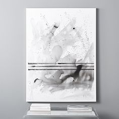 """Shop i've got it all together. """"A simple contradiction of organic flow and geometric line"""" in high-flow acrylic on canvas. This striking piece, by artist Kent Youngstrom, depicts a whirlwind of acrylic paint."""
