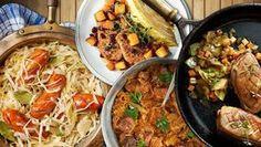 Zelí na 7 skvělých způsobů: Levné, rychlé a plné vitaminů - Blesk.cz Paella, Healthy Living, Healthy Recipes, Ethnic Recipes, Food, Red Peppers, Healthy Life, Healthy Food Recipes, Eten