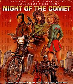 Now watching on StarzEncore Suspense: Night of the Comet. Apparently it's a parody of all the sci-fi movies that came out in the 50s, and it seems funny as hell so far.