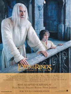 The Lord of the Rings: The Return of the King - For Your Consideration