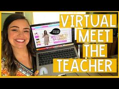 VIRTUAL MEET THE TEACHER! | Distance Learning Resource - YouTube E Learning, Learning Resources, Blended Learning, Instructional Technology, Instructional Strategies, Spanish Classroom, Flipped Classroom, High School Principal, Problem Based Learning
